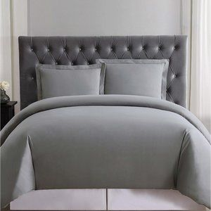 Truly Soft Everyday Full/Queen Duvet Set, Gray